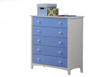 22005 - 5 drawer chest (blue).