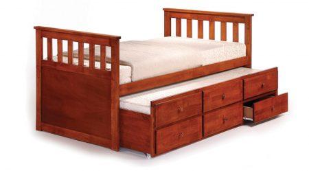 Maya captain bed (oak)