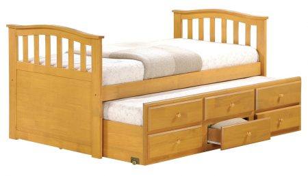 Pisa captain bed (maple)