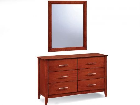 23001 - 6 drawer dresser +23001-MR.