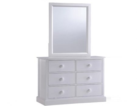 23009 - 6 drawer dresser + 23001-MR.
