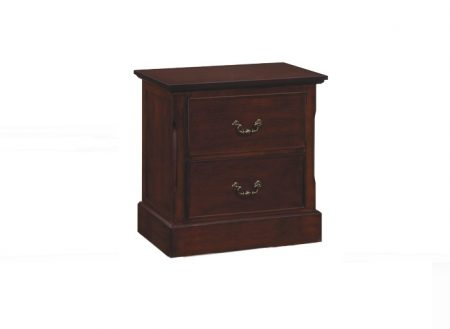 25017 - 2 drawer night stand.