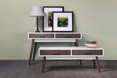 93005 console & coffee table