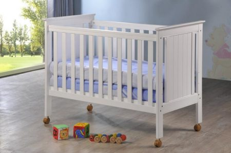 Lyra crib (white)